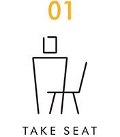 TAKE SEAT